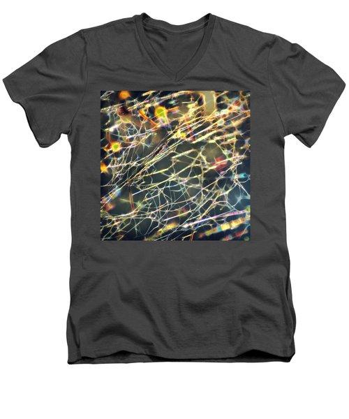 Rainbow Network Men's V-Neck T-Shirt
