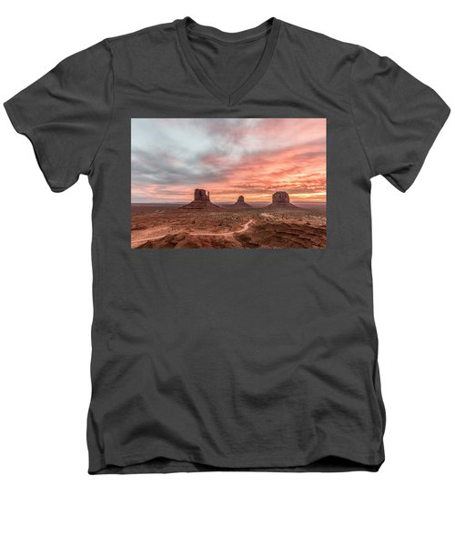 Colors In Monument Men's V-Neck T-Shirt