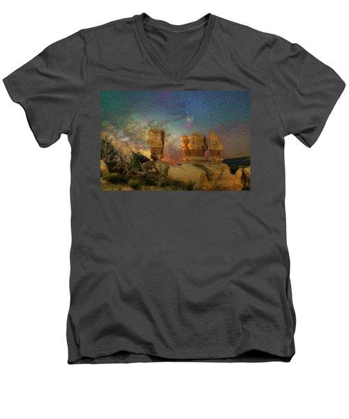 Colors Of Darkness Men's V-Neck T-Shirt