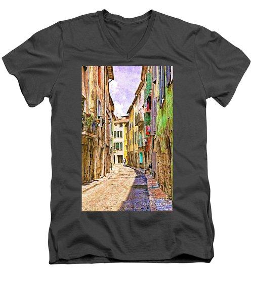 Colors Of Provence, France Men's V-Neck T-Shirt