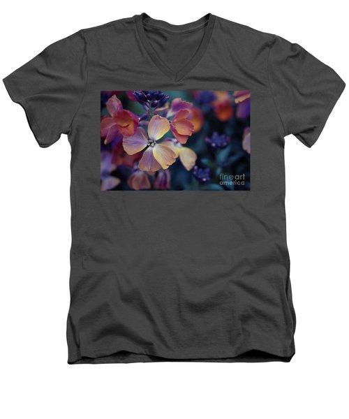 Colors Of Spring Men's V-Neck T-Shirt