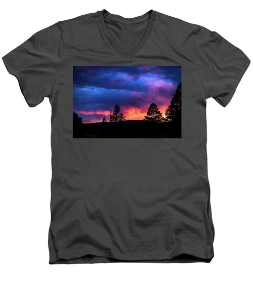 Colors Of The Spirit Men's V-Neck T-Shirt