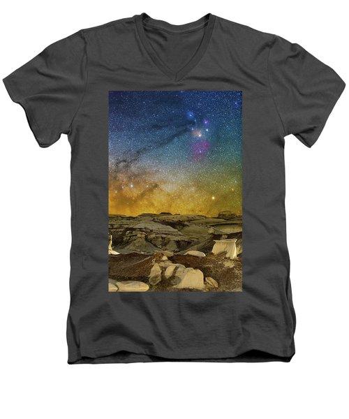 Colors On The Rise Men's V-Neck T-Shirt