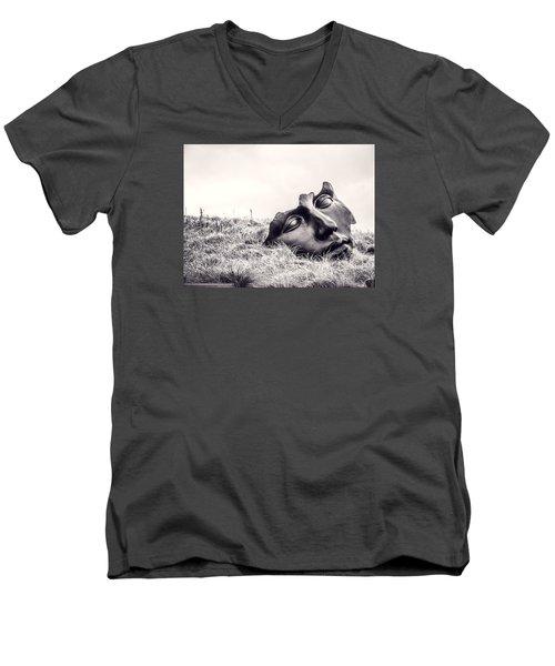 Colossal Mask Men's V-Neck T-Shirt