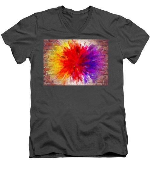 Colour To Lift Your Soul Men's V-Neck T-Shirt