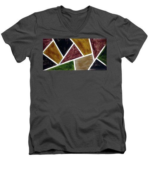 Coloured Glass Men's V-Neck T-Shirt