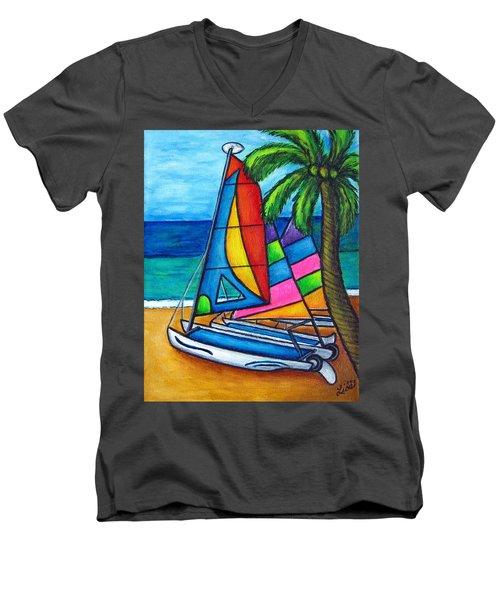 Colourful Hobby Men's V-Neck T-Shirt