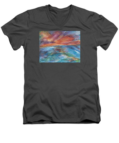 Colours Of The Sea 8 Men's V-Neck T-Shirt