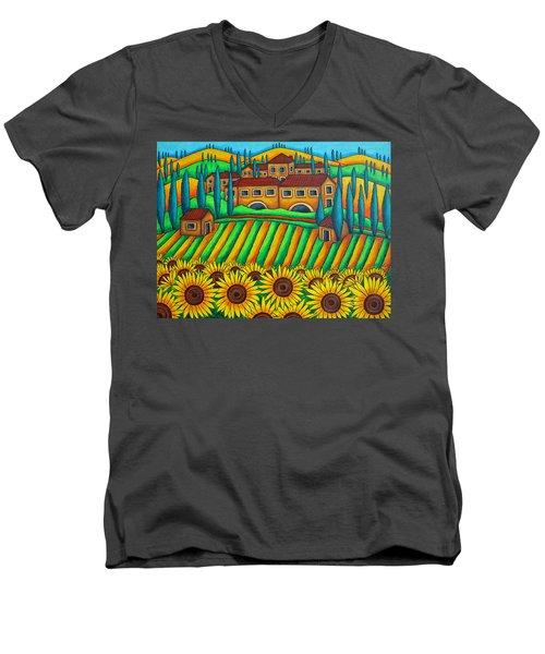 Colours Of Tuscany Men's V-Neck T-Shirt
