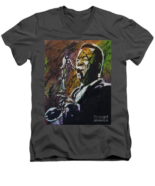 Coltrane Men's V-Neck T-Shirt