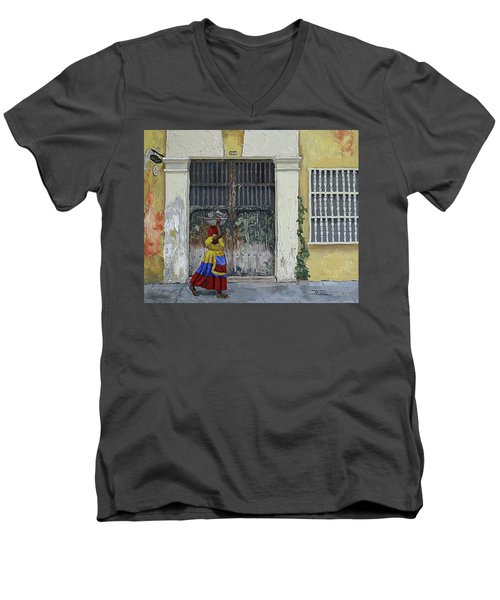 Colombia Men's V-Neck T-Shirt
