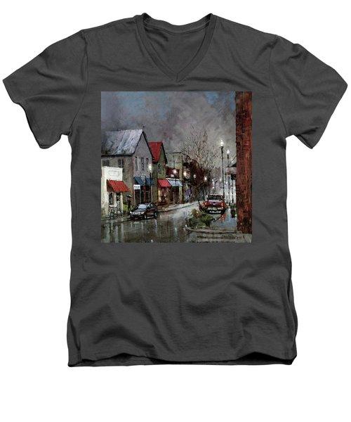 Columbia Rain Men's V-Neck T-Shirt