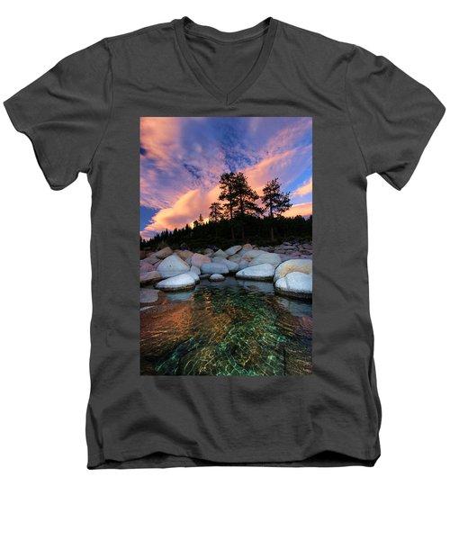 Come Into My World Men's V-Neck T-Shirt
