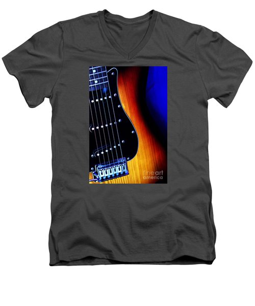 Men's V-Neck T-Shirt featuring the photograph Come Play With Me  by Baggieoldboy