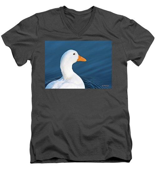 Come Swim With Me Men's V-Neck T-Shirt