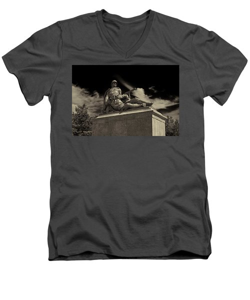 Come With Me If You Want To Live Men's V-Neck T-Shirt