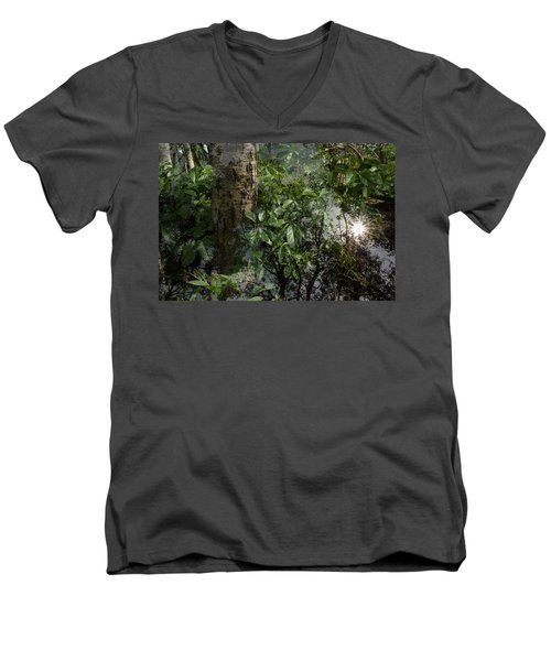 Comfry Men's V-Neck T-Shirt by Ellery Russell