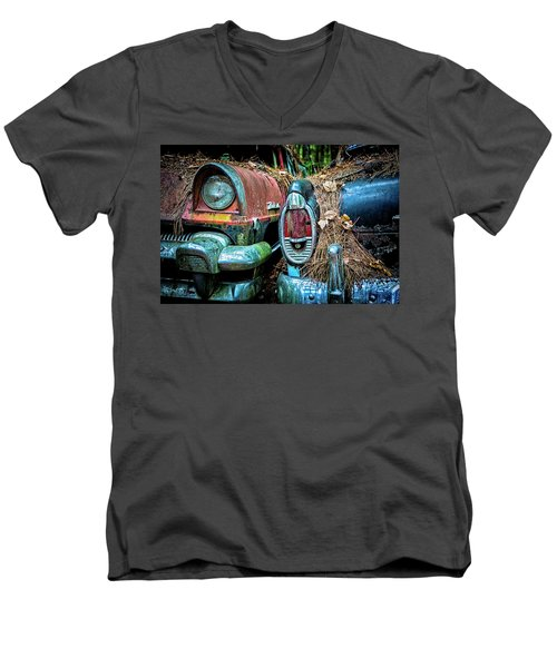 Coming And Going, 2 Men's V-Neck T-Shirt