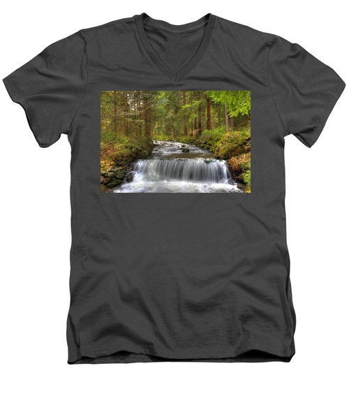 Coming Around The Bend Men's V-Neck T-Shirt
