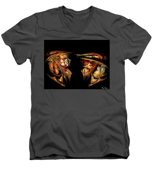 Coming Face To Face Men's V-Neck T-Shirt