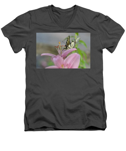 Coming In Men's V-Neck T-Shirt