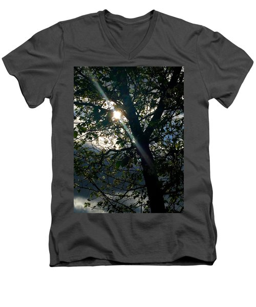 Coming Out Of The Dark Men's V-Neck T-Shirt