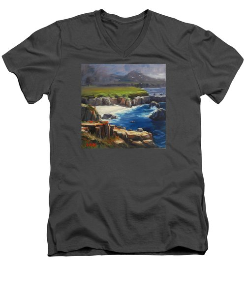 Coming Storm Men's V-Neck T-Shirt
