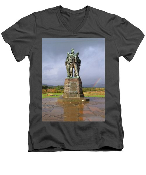 Commando Memorial Men's V-Neck T-Shirt