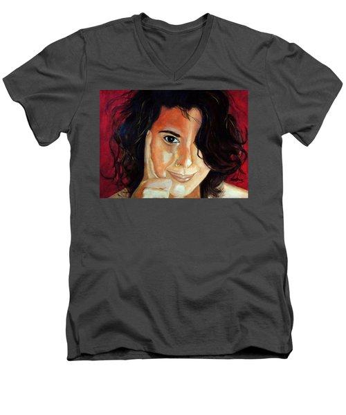 Commision Men's V-Neck T-Shirt