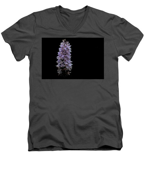 Common Spotted Orchid Men's V-Neck T-Shirt by Keith Elliott