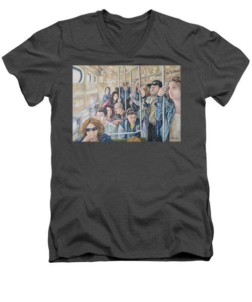 Commuters Men's V-Neck T-Shirt