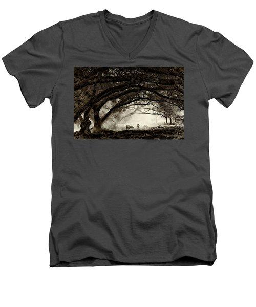 Companionship Men's V-Neck T-Shirt