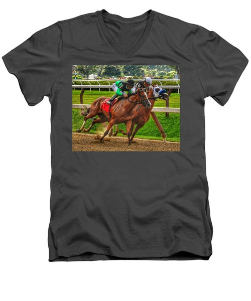 Competing Men's V-Neck T-Shirt