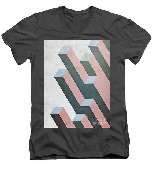 Complex Geometry Men's V-Neck T-Shirt