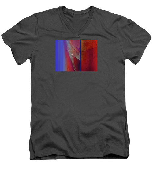 Composition 0310 Men's V-Neck T-Shirt by Walter Fahmy