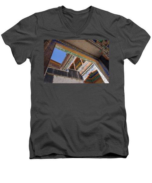 Composition 1, Thiksey, 2005 Men's V-Neck T-Shirt
