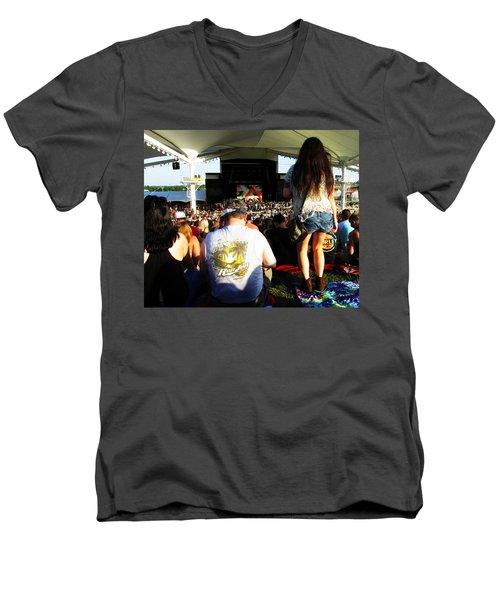 Concert Crowd Men's V-Neck T-Shirt
