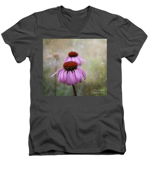 Coneflower Dream Men's V-Neck T-Shirt