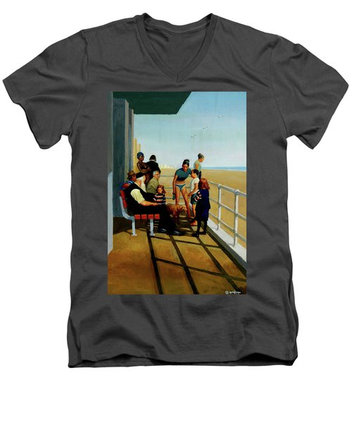Coney Island Men's V-Neck T-Shirt