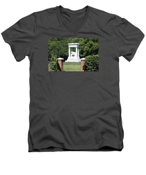 Confederate Memorial State Historic Park Men's V-Neck T-Shirt