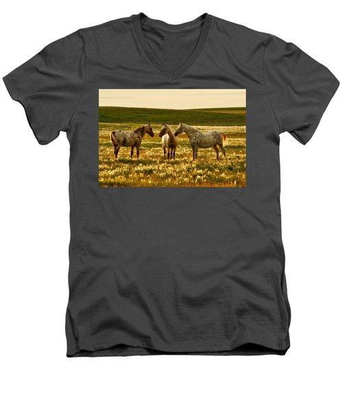 The Conference Men's V-Neck T-Shirt