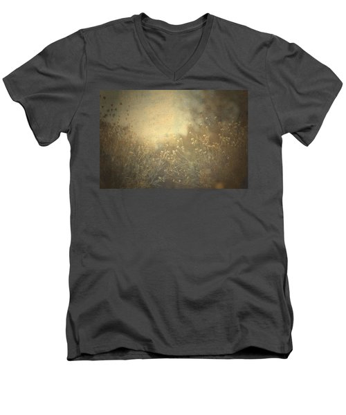 Men's V-Neck T-Shirt featuring the photograph Connected  by Mark Ross