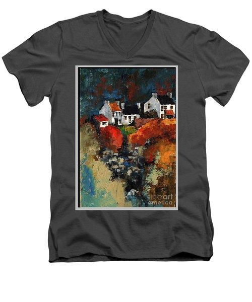 Connemara Colours Men's V-Neck T-Shirt