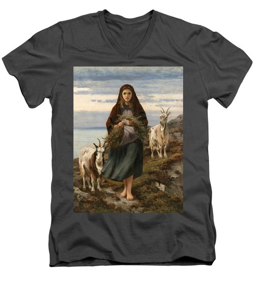 Connemara Girl Men's V-Neck T-Shirt