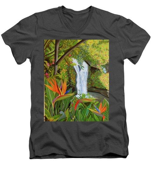 Conquest Of Paradise Men's V-Neck T-Shirt