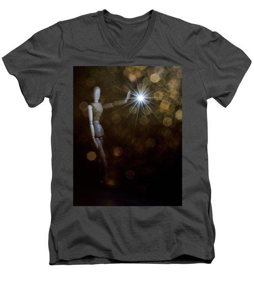 Contact Men's V-Neck T-Shirt