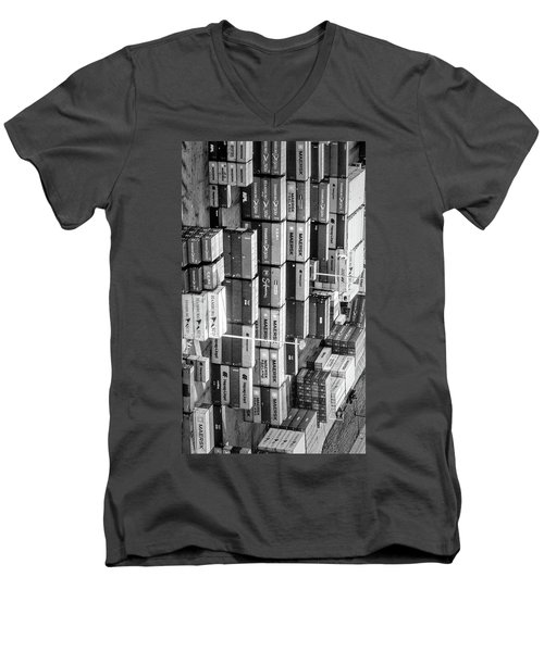 Container Library Men's V-Neck T-Shirt