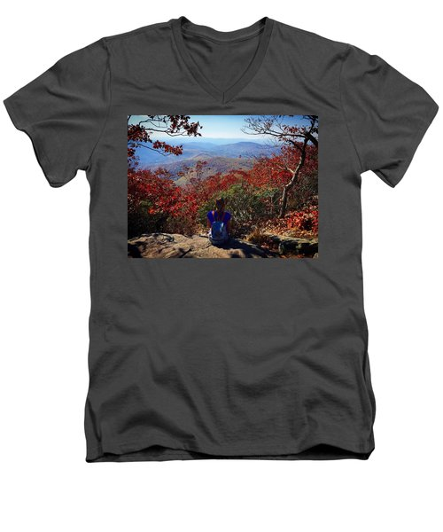 Contemplate Men's V-Neck T-Shirt