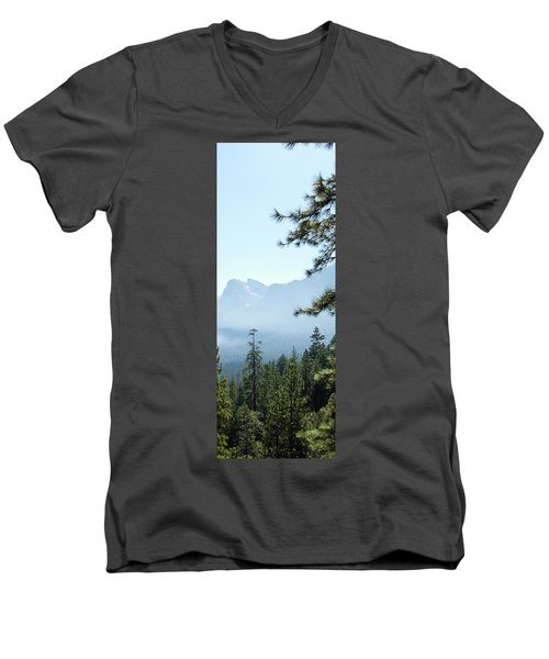 3 Of 4 Controlled Burn Of Yosemite Section Men's V-Neck T-Shirt