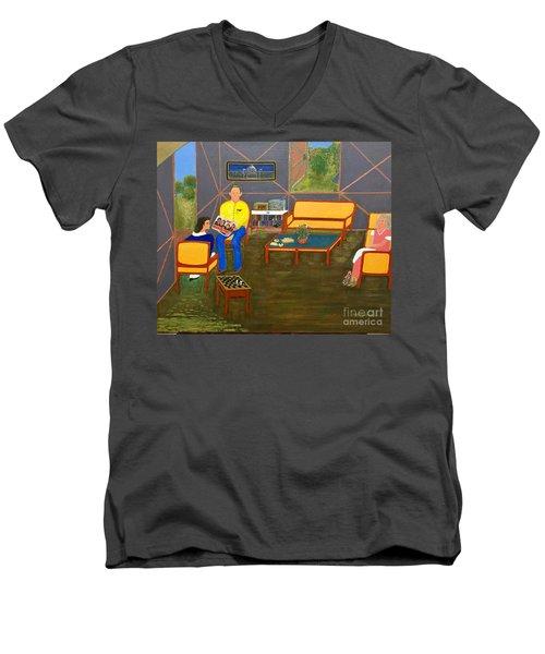 Conversations Collection Men's V-Neck T-Shirt